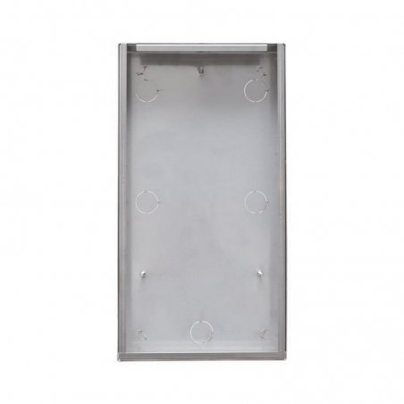 Caja de superficie con visera antilluvia Switch 20-22-24-26 pulsadores Simplebus/VIP con visera de Comelit