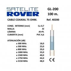 Cable Coaxial 0,7 mm Cu /...