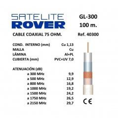 Cable Coaxial 1,13 mm Cu /...