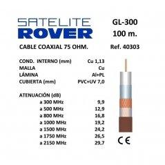 Cable Coaxial 1,13 mm Cu/Cu...