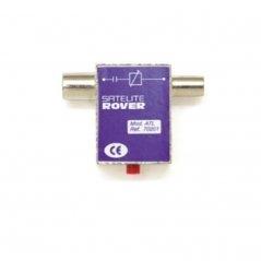 Atenuador regulable 0..20 dB paso DC conexión F (47-862 MHz) de Satelite Rover