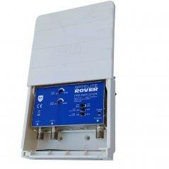Amplificador mástil 40 dB 2 entradas UHF LTE 2