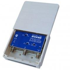 Amplificador mástil 25-40 dB 2 entradas: FM