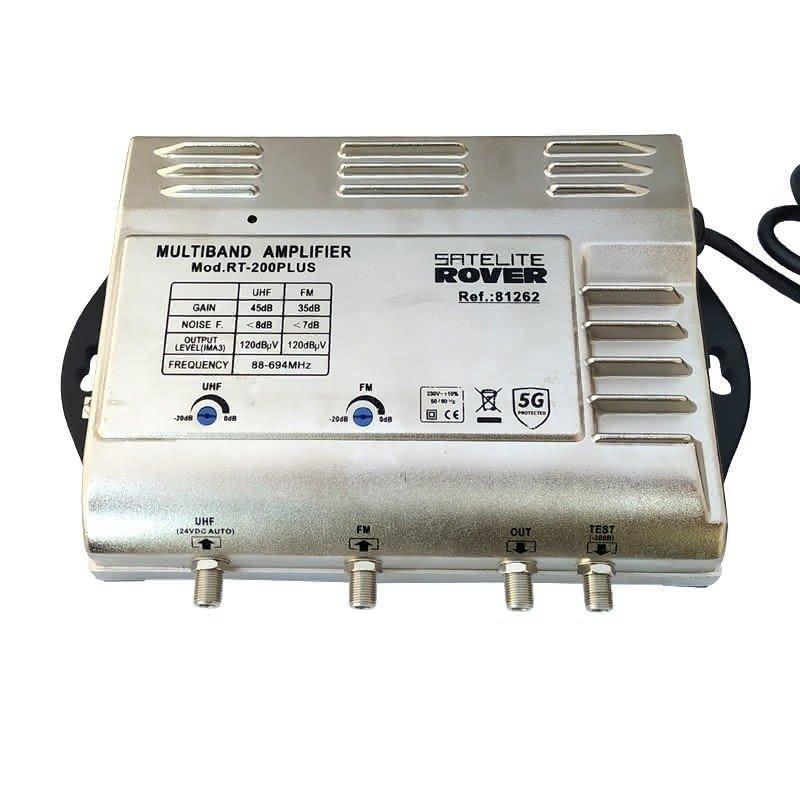Central banda ancha 25..45 dB 2 entradas: FM