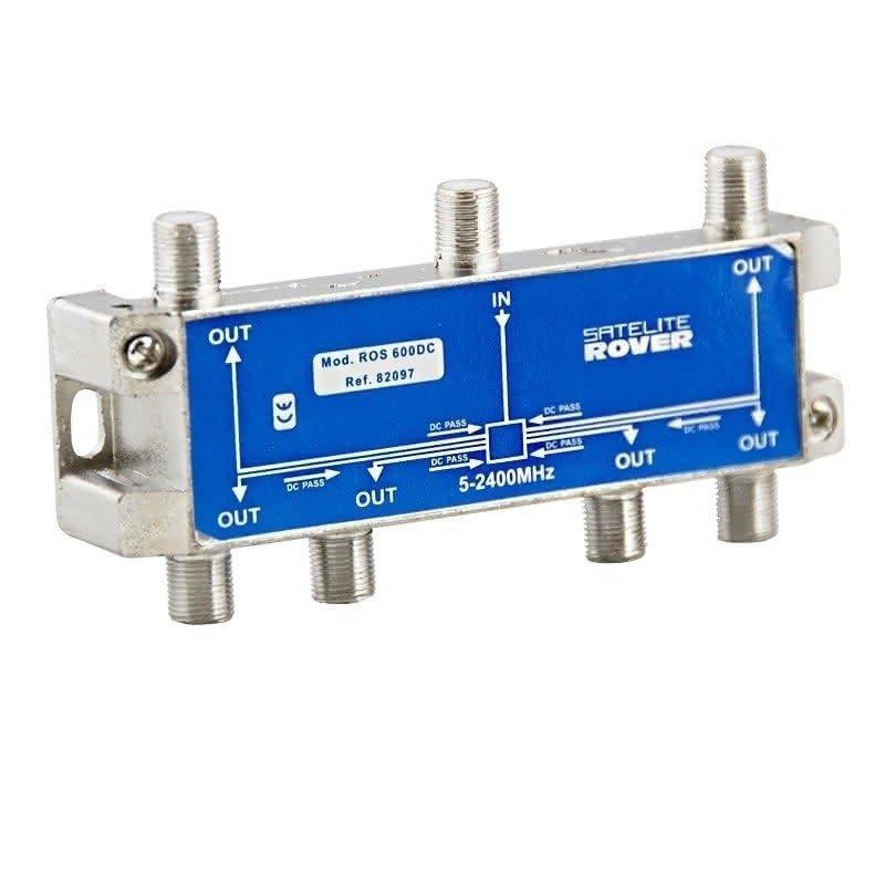 Distribuidor 6 salidas paso DC 10-12