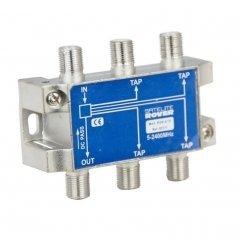 Derivador 4 salidas 15 dB pérdida de derivación de Satelite Rover