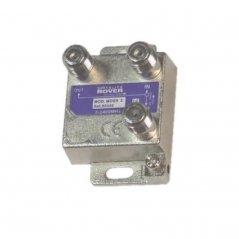 Distribuidor mini 2 salidas 2 vías sin pérdida de paso de Satelite Rover