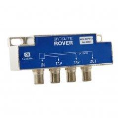 Derivador 2 salidas paso DC 14-15 dB pérdida de inserción de Satelite Rover