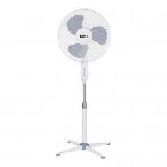 Ventilador de pie 45W 3 aspas blanco de EDM