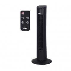 Ventilador de torre 60W negro de EDM