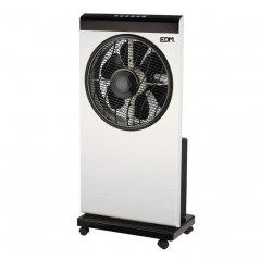 Ventilador nebulizador 80W 6 aspas blanco/negro de EDM