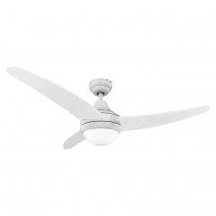 Ventilador de techo Egeo 60W 4 aspas blanco de EDM