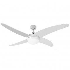 Ventilador de techo Caspio 60W 4 aspas blanco de EDM