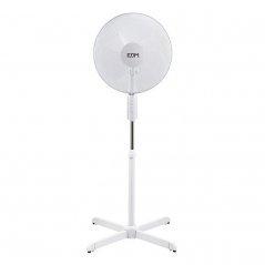 Ventilador de pie 50W 3 aspas blanco de EDM