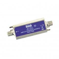 Amplificador enchufable banda ancha 13-20 dB entrada TV/SAT (47-2400 MHz) de Satelite Rover