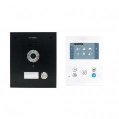 Kit de videoportero Marine ST1 negro con monitor VEO-XS Wi-Fi DUOX PLUS 1/L de Fermax