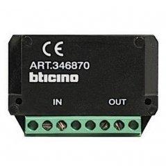 Amplificador de vídeo hasta 50m 2 hilos de Tegui (ref. 346870)