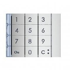 Frontal de módulo Teclado 353000 Sfera New 2 hilos de Tegui (ref. 353001)
