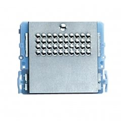 Placa de portero Powercom sin pulsador 4+N/Simplebus de Comelit