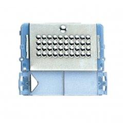 Placa de portero Powercom 1 pulsador 4+N/Simplebus de Comelit