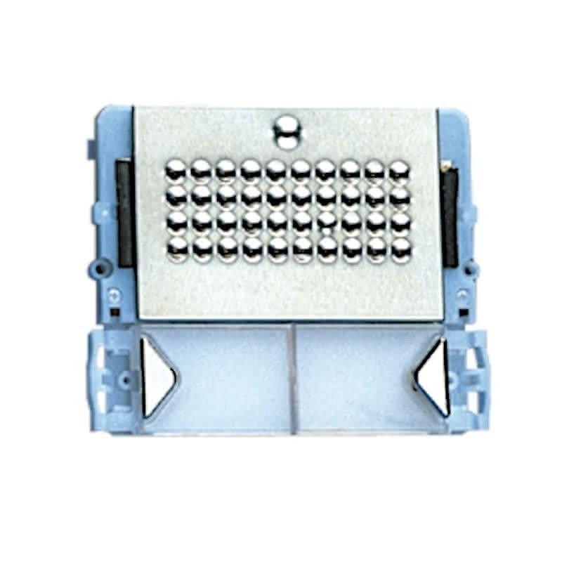 Placa de portero Powercom 2 pulsadores 4+N/Simplebus de Comelit