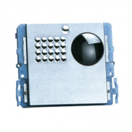 Placa de videoportero Powercom 4+N/Simplebus Sin pulsador de Comelit
