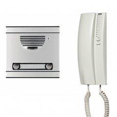 Kit A1 de portero Serie 7 con telefonillo Serie 7 4+N 1/L de Tegui (ref. 375011)