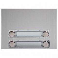 Frontal de módulo 4 pulsadores 2 columnas Serie 7 de Tegui (ref. 375240)