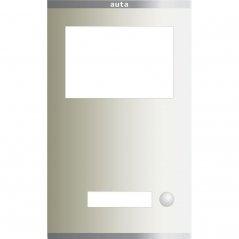 Placa Compact S2 de 1 pulsadores 1 columna con Tarjetero de Auta (ref. 851211)