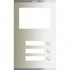Placa Compact S2 de 3 pulsadores 1 columna con Tarjetero de Auta (ref. 851213)